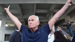 Trump commutes prison sentence of longtime friend Roger Stone