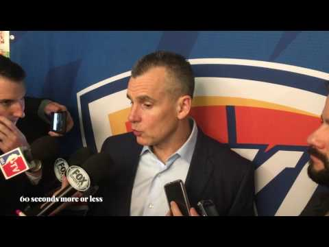 """Billy Donovan (Oklahoma City Thunder):""""Westbrook is an unique player, his versality is amazing"""""""