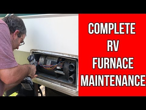 RV Furnace Maintenance Repair-RVSWAT