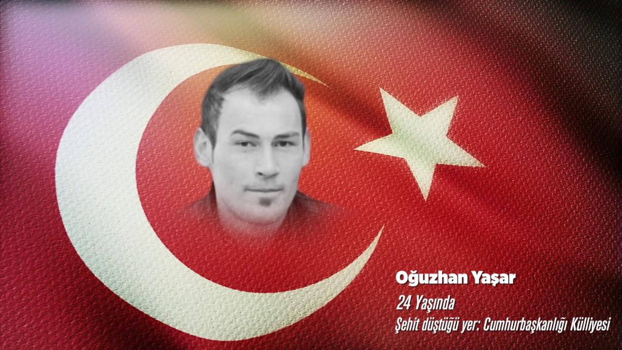 15 Temmuz Şehidi Oğuzhan Yaşar