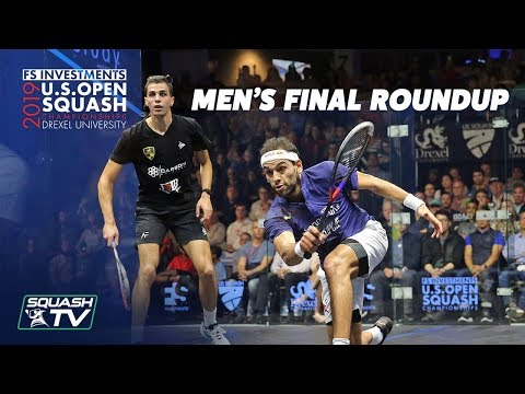 Squash: Farag V ElShorbagy - U.S. Open 2019 - Men's Final Roundup