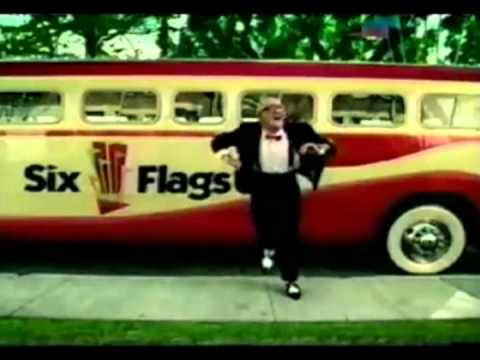 Mr Six Six Flags Old Man Dancing Gangnam Style