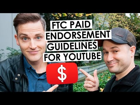 How to Disclose Brand Deals and Affiliate Links on YouTube — FTC Endorsement Guidelines
