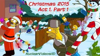 The Simpsons: Tapped Out - Christmas Update 2015 Part 1 Gameplay Video
