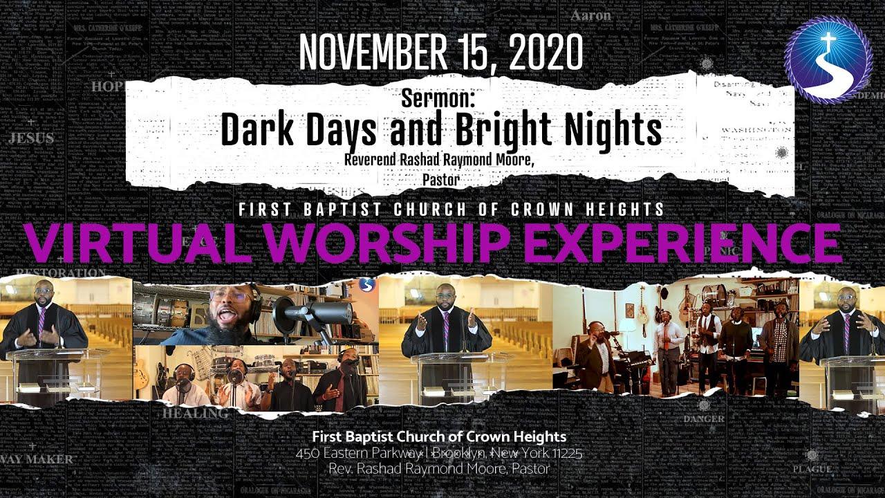 November 15, 2020: Virtual Worship Service