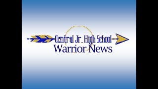 Central Junior High Warrior News 09/11/18