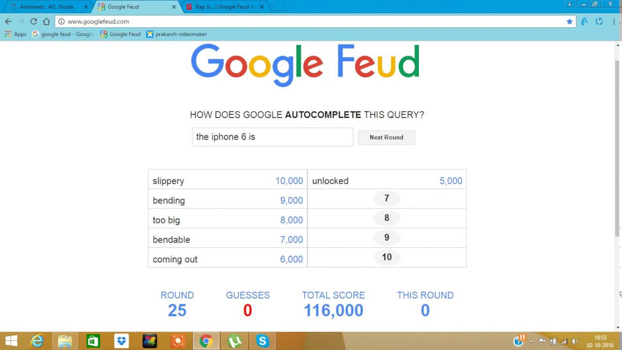 Google Feud Answers To Can Dogs Learn To