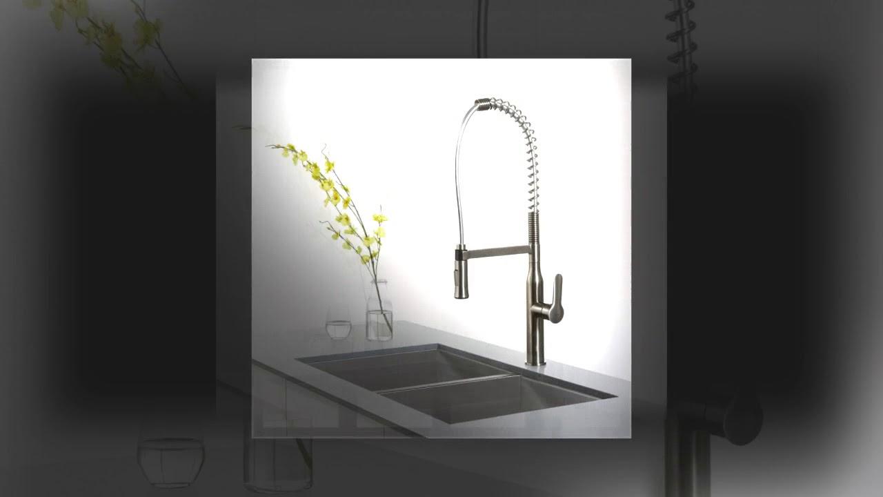 KRAUS KPF 1650SS Best kitchen faucet - YouTube