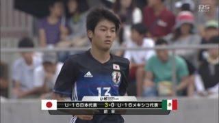 【ゴール動画】FC東京U-18 久保建英選手のドリブルから、三菱養和SCユース 中村敬斗選手が決める!