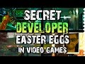 Secret Developer Easter Eggs in Video Games!