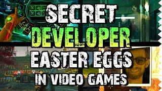 Secret Developer Easter Eggs in Video Games!