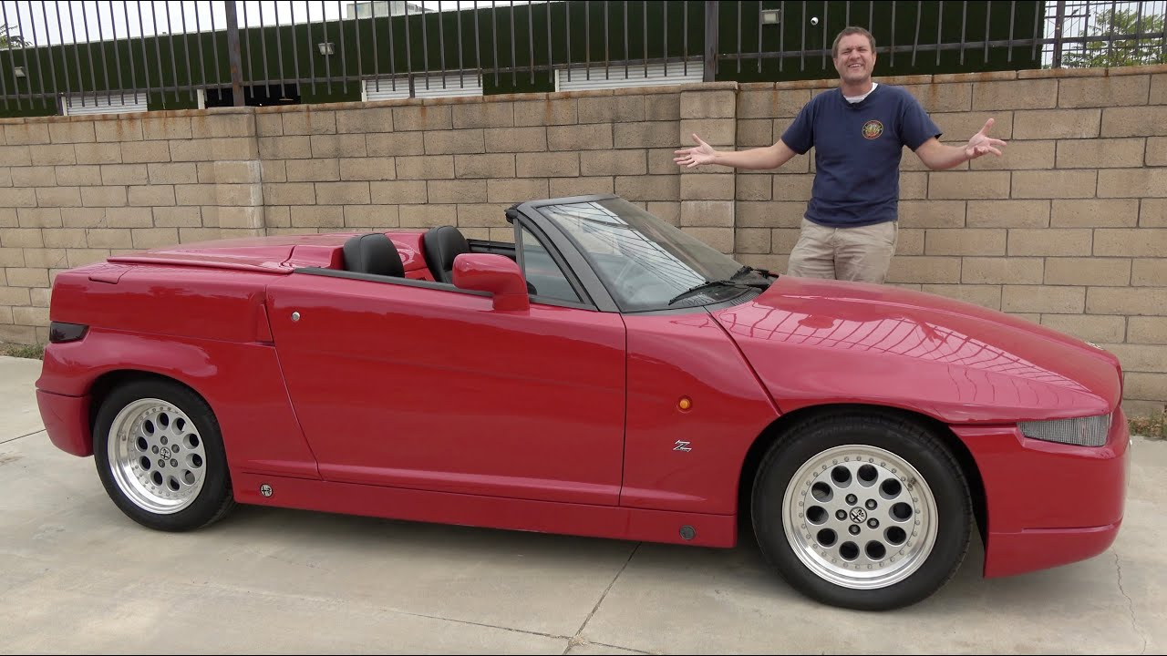 Download The Alfa Romeo RZ Is One of the Strangest 1990s Sports Cars
