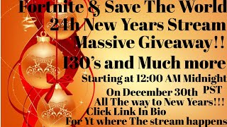 Fortnite Save The World Massive Giveaway und Trading New Years Special