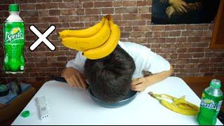 バナナ×スプライトで必ず吐くって本当?  Banana and Sprite Challenge thumbnail