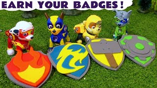 Paw Patrol Mighty Pups Badges Rescue Challenge Toy Story for King Funling Full Episode English