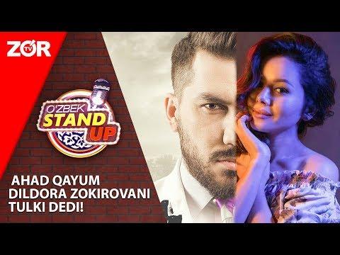 O'zbek Stand Up | Ahad Qayum Dildora Zokirovani Tulki Dedi! (07.09.2019)