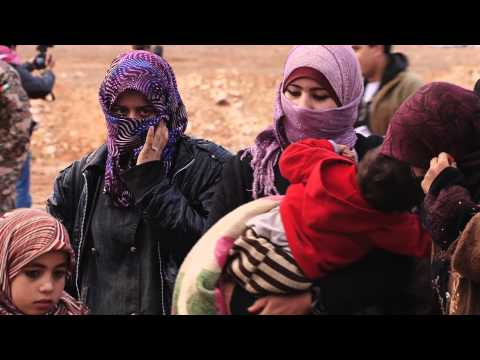 Syrian Refugees: Crossing The Border To Jordan