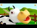 Old MacDonald had a Farm | Kindergarten Nursery Rhymes & Songs for Kids | Little Treehouse S03E70