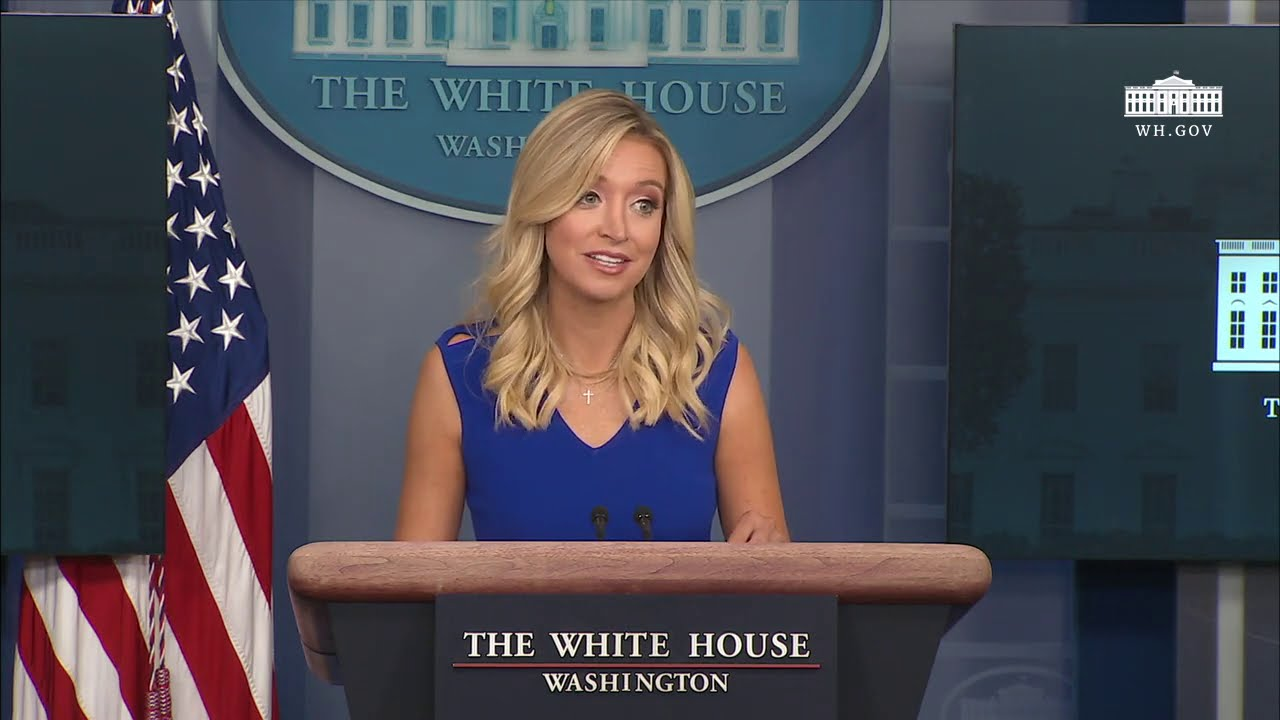 07 24 20 Press Secretary Kayleigh Mcenany Holds A Press Briefing Youtube