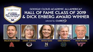 2019 Google Cloud Academic All-America Hall of Fame Induction Ceremony
