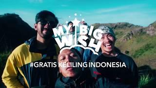 "Blibli.com - My Big Wish ""Gratis Keliling Indonesia - Explorer"""