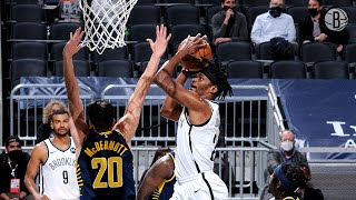 Alize Johnson Highlights | 20 Points and 21 Rebounds vs. Indiana Pacers
