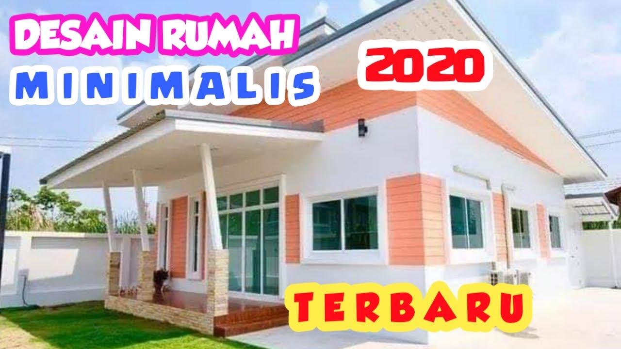 Tampak Depan Desain Rumah Minimalis Terbaru 2020 Youtube