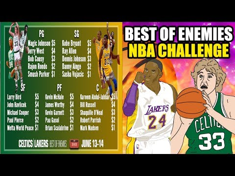 BEST OF ENEMIES NBA CHALLENGE! LAKERS VS CELTICS RIVALRY! CAN YOU GO 82-0? NBA 2K17 MY LEAGUE