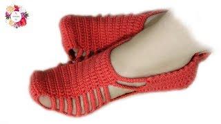Unique crochet slippers tutorial for beginners | beginners crochet