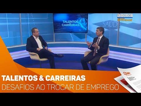Talentos & Carreiras: Desafios ao trocar de emprego - TV SOROCABA/SBT