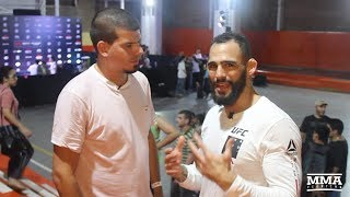 Santiago Ponzinibbio to 'Prove to the World' He's Ready for UFC Title Shot - MMA Fighting