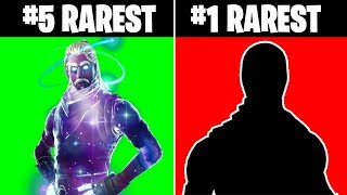Top 10 Rarest Skins in Fortnite & How to Get them!