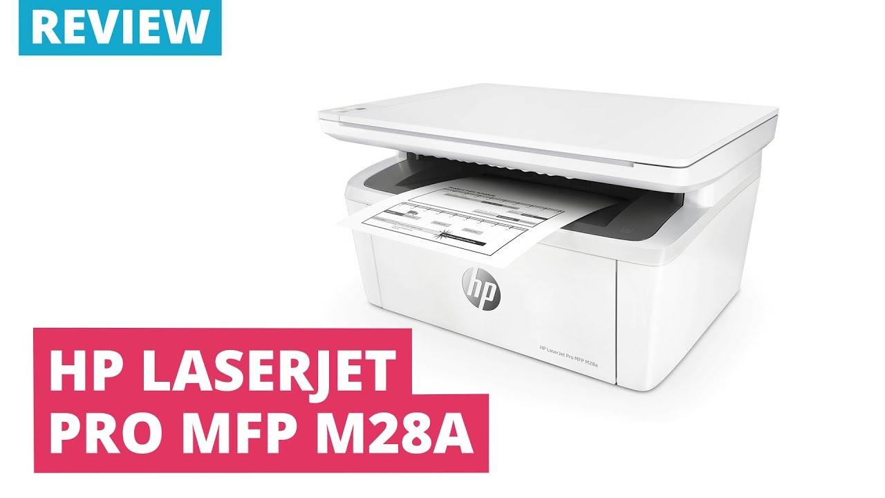 Printerland Review: HP LaserJet Pro MFP M28a A4 Mono Multifunction Laser  Printer
