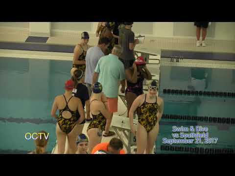 Varsity Swim & Dive vs Southfield 9-21-17