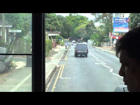 Bus Service in Mauritius-Travelling from Port Louis to Quatre Bornes 7