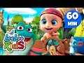 Five Little Speckled Frogs - Learn English with Songs for Children | LooLoo Kids