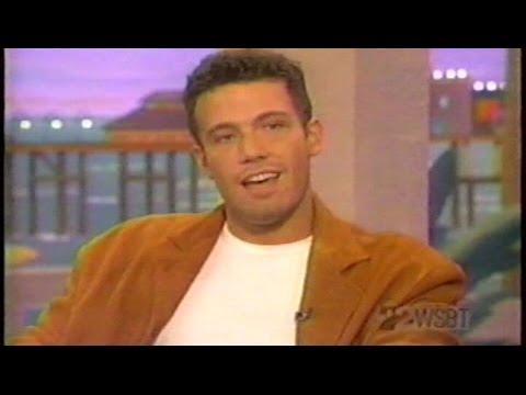 Ben Affleck 1998 Interview Age 25 Talks Good Will Hunting