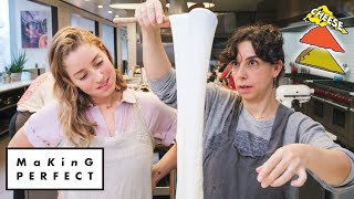 Download Carla and Molly Try to Make the Perfect Pizza Cheese | Making Perfect: Episode 3 | Bon Appétit Mp3 and Videos
