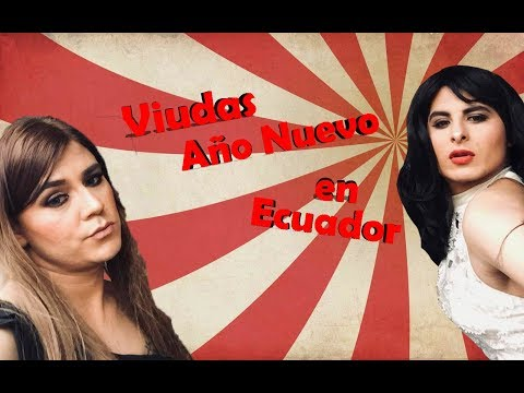 Viudas Año nuevo en Ecuador feat. Raul Alejo| Diario Canguil