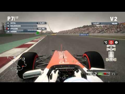 F1 2012 | CLASIFICACION | CIRCUITO: YEONGAM | TEMP.1
