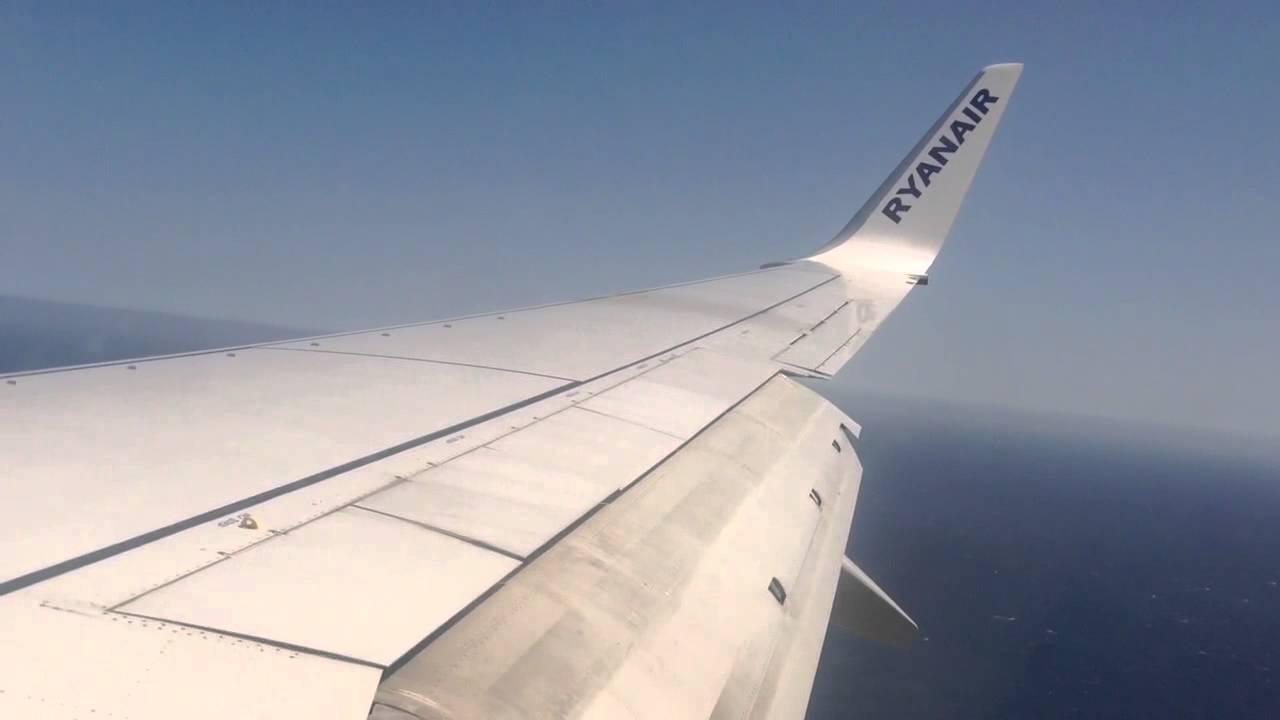 Ryanair landing in Tenerife South airport - YouTube