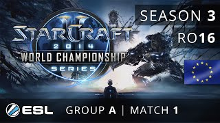 Harstem vs. Bunny (PvZ) - Group A Ro16 - WCS Europe 2014 Season 3 - StarCraft 2