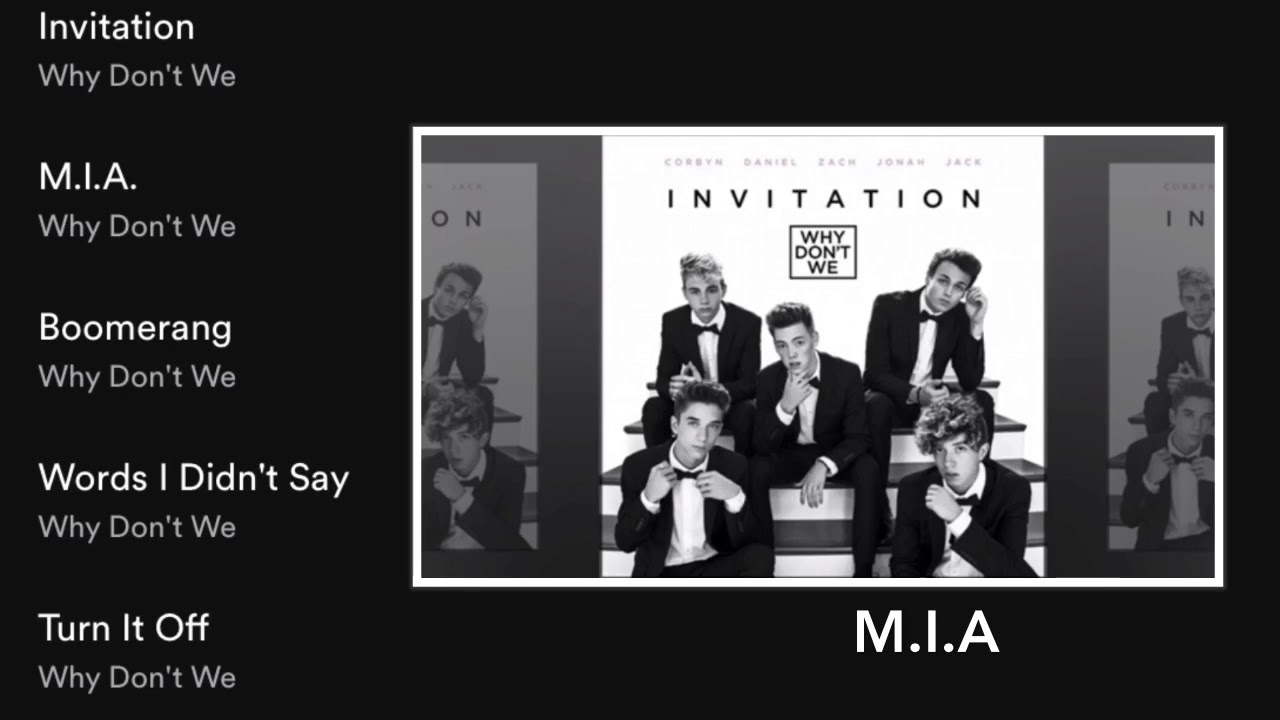 Why dont we invitation full ep youtube why dont we invitation full ep stopboris Choice Image