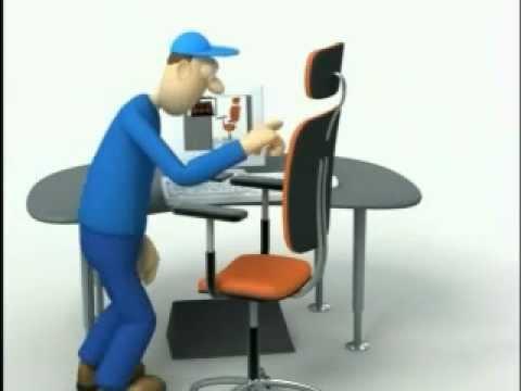 Prevenci n de riesgos laborales ergonom a radical youtube for Ergonomia en el trabajo de oficina