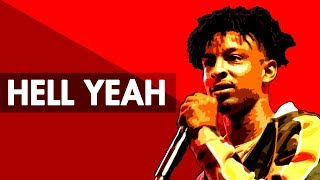 """HELL YEAH"" Hard Trap Beat Instrumental 2017   Dark Rap Hiphop Freestyle Trap Type Beat   Free DL"