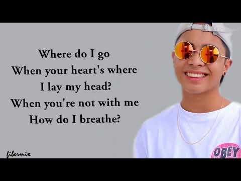 Mario - How Do I Breathe (lyrics) - Justin Vasquez (Cover)