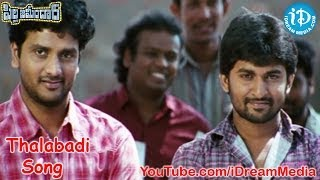 Pilla Zamindar Full Video Songs - Thalabadi Song - Nani - Haripriya - Bindu Madhavi