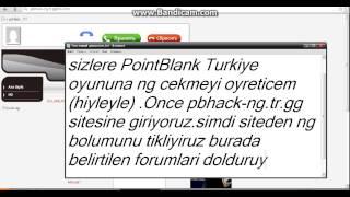 Point Blank Turkiye Ng hilesi pbhack-ng.tr.gg 100% çalişıyor 2013