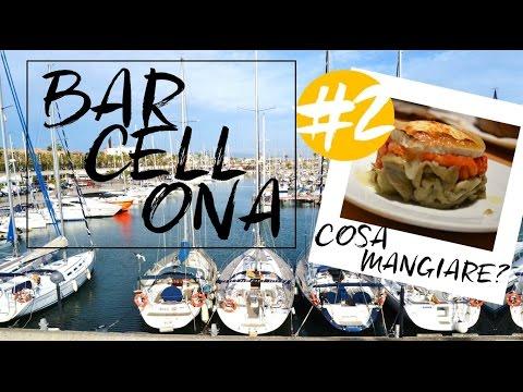 Barcellona #2: i cibi catalani più buoni!! Documentario di viaggio: cosa vedere a Barcellona città