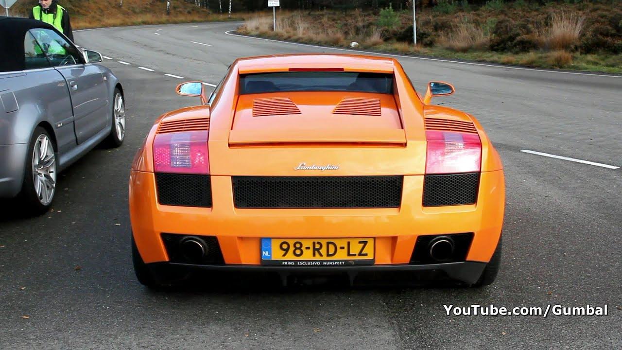 Cars Wallpaper Hd Lambo Ferrari Orange Lamborghini Gallardo Sounds 1080p Hd Youtube